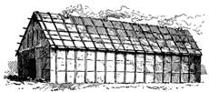 Iroquois long-house